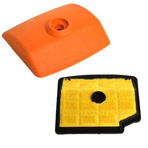 Air Filter Cleaner & Cover For Stihl MS200 200T 020T Chainsaw 1129 120 1602