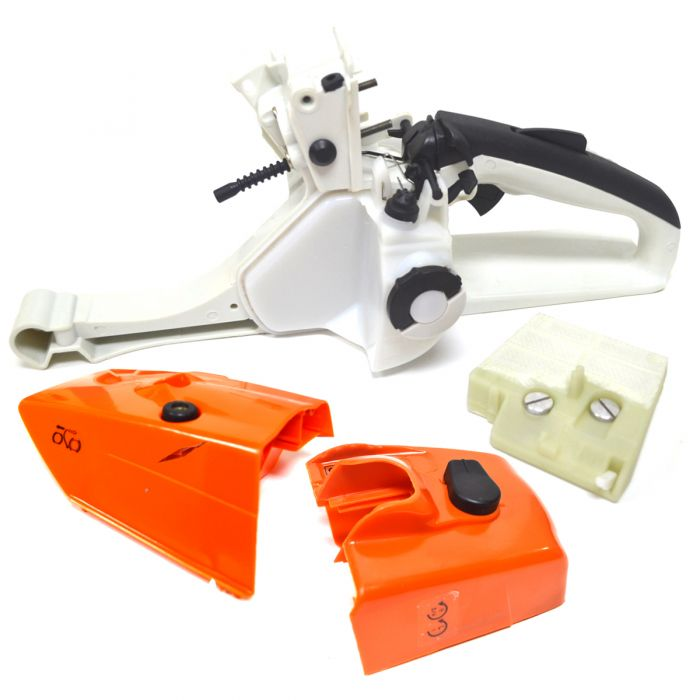 Rear Gas Tank Handle & Air Filter Kit for Stihl Chainsaw Models