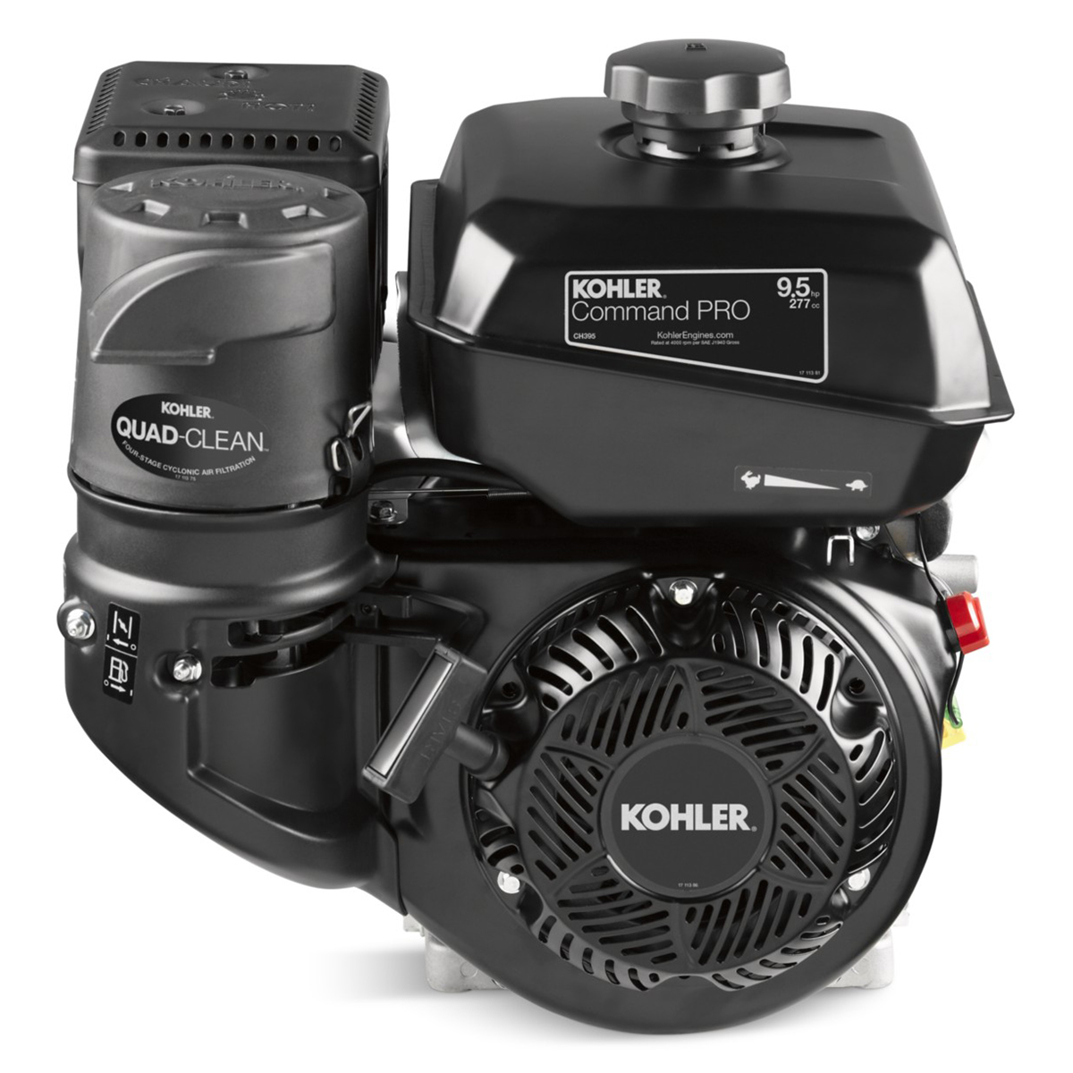 Kohler Command Pro CH395 Four-Cycle 9.5HP OHV Engine