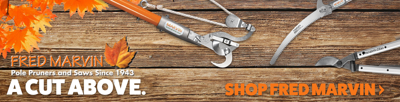 High Quality Pole Saws, Pruners, and More from Fred Marvin