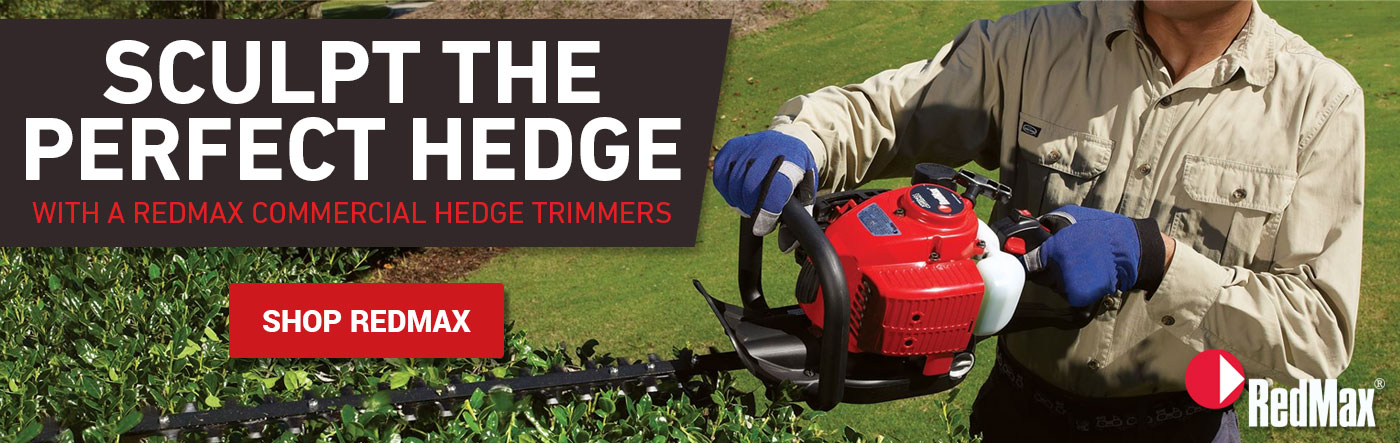 RedMax hedge trimmers available at Russo