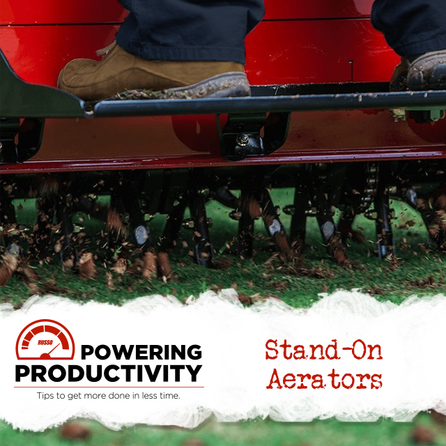 Stand-on Aerators - Why walk when you can ride?