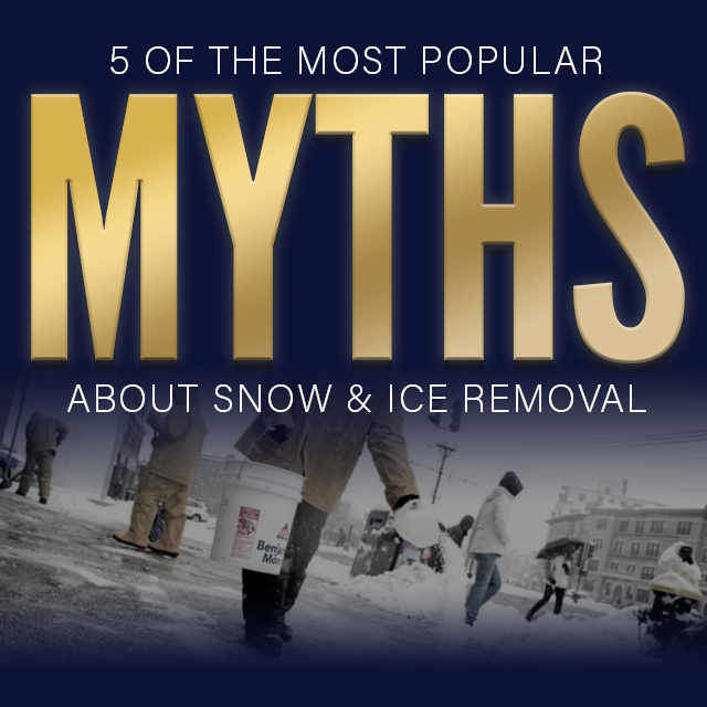 5 most popular myths about ice removal
