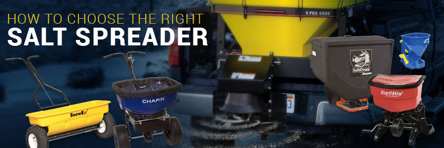 How to choose the right salt spreader