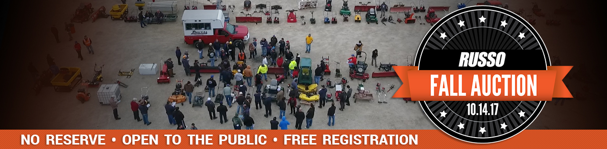 Russo Fall Used Equipment Auction 2017