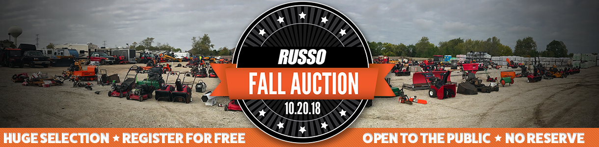 Russo Fall Used Equipment Auction 2018