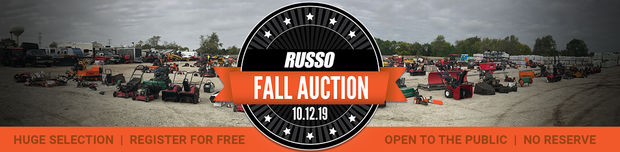 Russo Fall Used Equipment Auction 2019