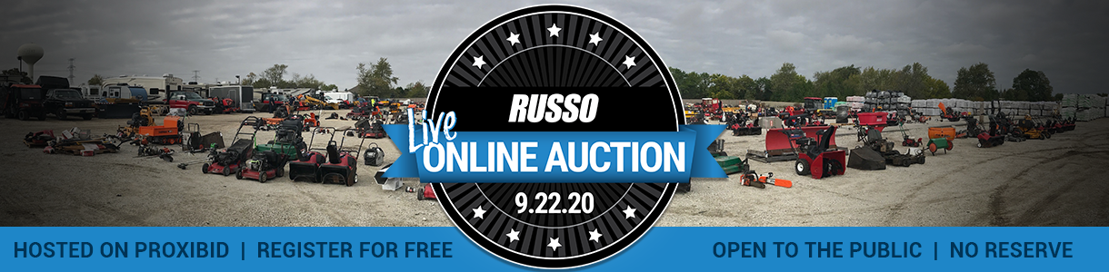 Russo Online Used Equipment Auction 9/22/2020
