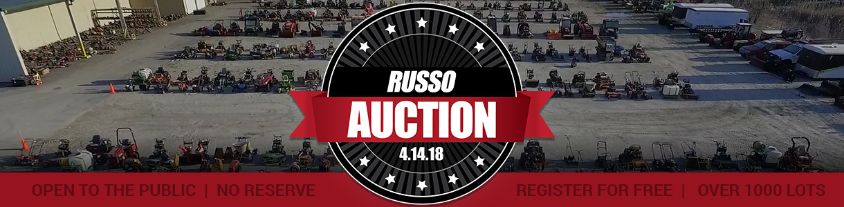 Russo Spring Used Equipment Auction 2018