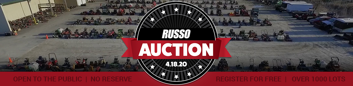 Russo Spring Used Equipment Auction 2020