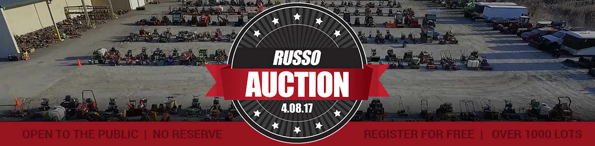 Russo Spring Used Equipment Auction 2017