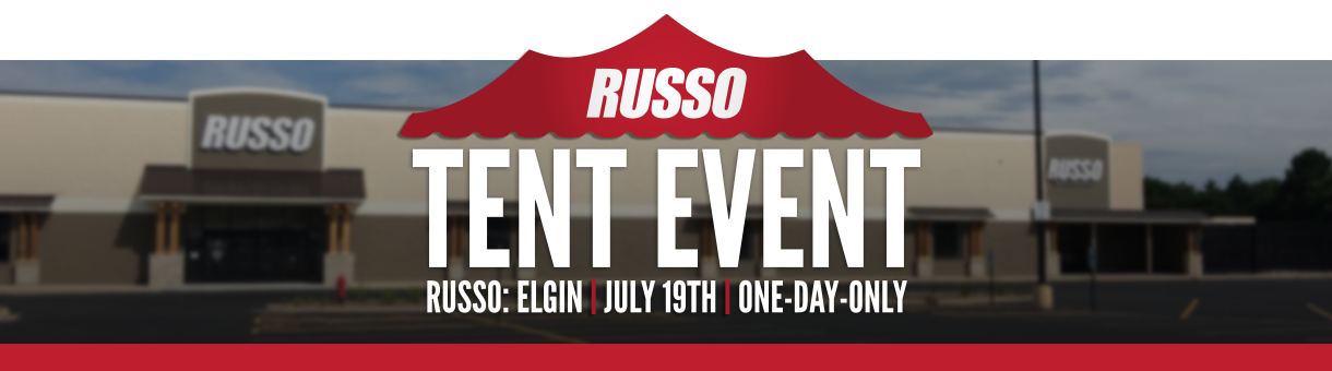Russo Tent Event -- One-Day-Only Summer Sale