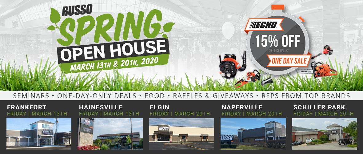 2020 Spring Open House, one-day-only deals, raffle, giveaways, free food
