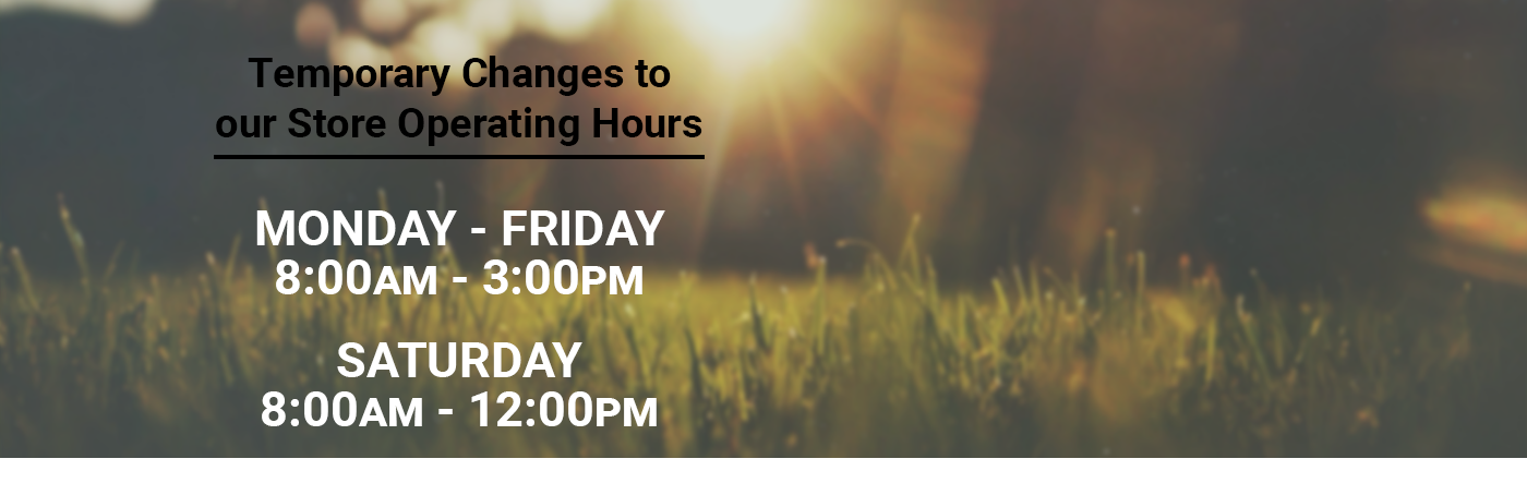 Temporary Operating Hours