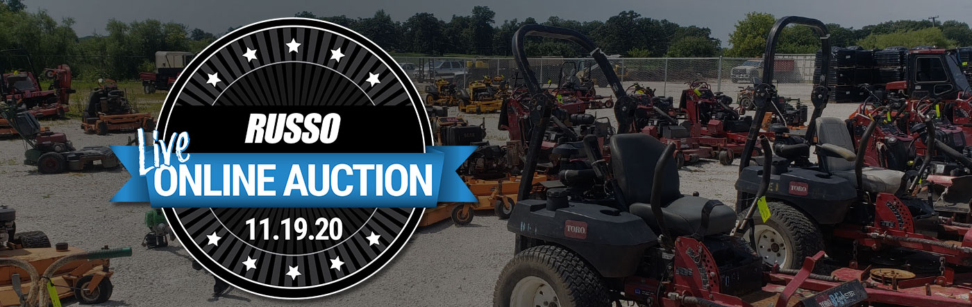 Russo ONLINE Used Equipment Auction - November 19, 2020