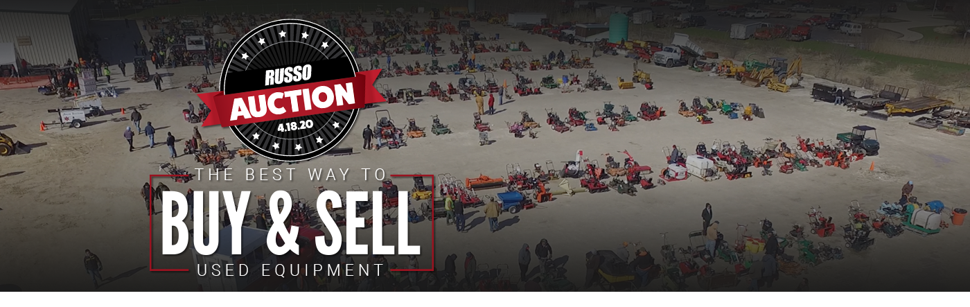 The Russo Used Equipment Auction - April 18, 2020