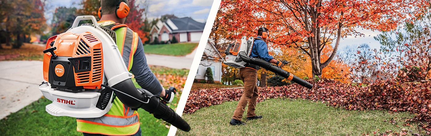 Stihl BR 800 - The toughest jobs call for Real Force.