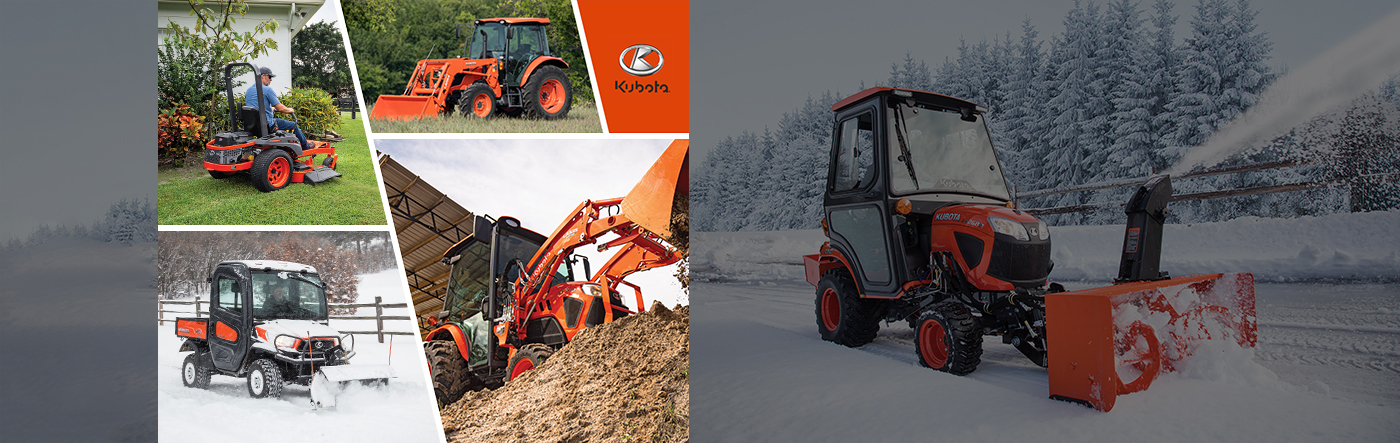 Kubota - Get a great deal on getting more done!