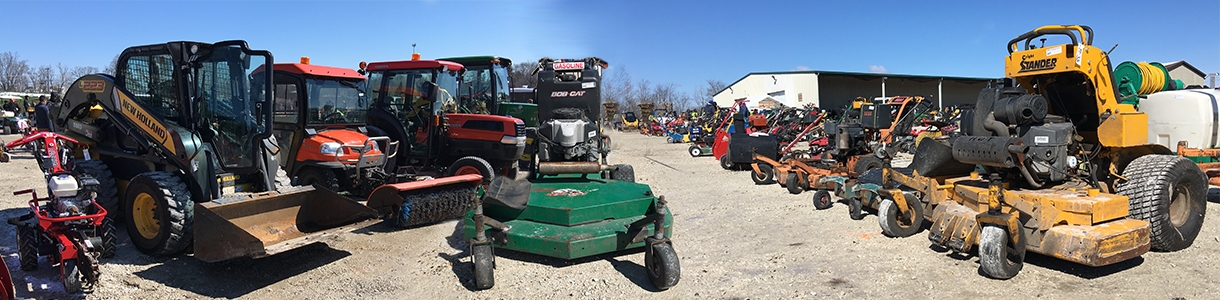 Examples of used equipment from previous auctions